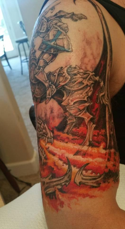shawn wilken saint george tattoo